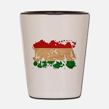 Tajikistan Flag Shot Glass