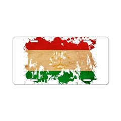 Tajikistan Flag Aluminum License Plate