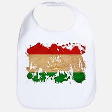 Tajikistan Flag Bib