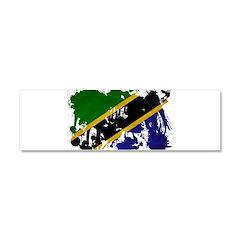 Tanzania Flag Car Magnet 10 x 3
