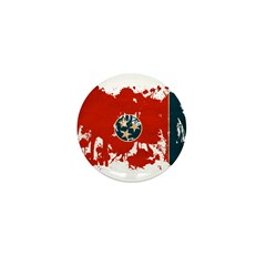 Tennessee Flag Mini Button (100 pack)