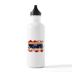 Thailand Flag Water Bottle