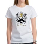 Van Overbeke Coat of Arms Women's T-Shirt