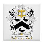 Van Overbeke Coat of Arms Tile Coaster