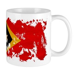 Timor Leste Flag Mug