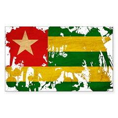 Togo Flag Decal