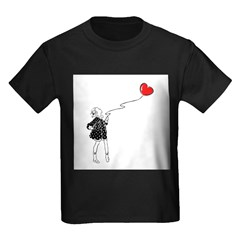 Girl With Heart Balloon T