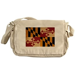 Maryland Flag Messenger Bag