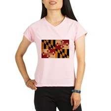 Maryland Flag Performance Dry T-Shirt