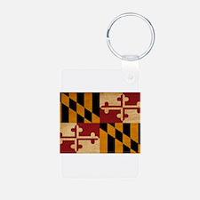 Maryland Flag Keychains