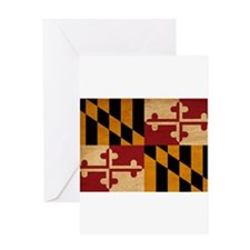 Maryland Flag Greeting Card