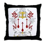 den Ouden Coat of Arms Throw Pillow