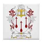 den Ouden Coat of Arms Tile Coaster