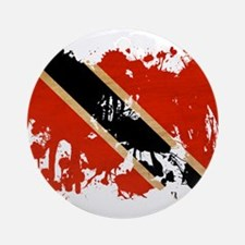 Trinidad and Tobago Flag Ornament (Round)
