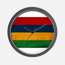 Mauritius Flag Wall Clock