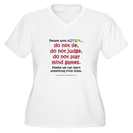learnfromautism Plus Size T-Shirt