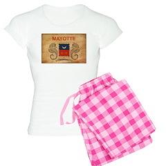 Mayotte Flag Pajamas