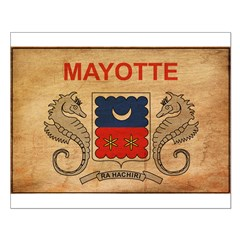 Mayotte Flag Posters