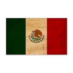 Mexico Flag 22x14 Wall Peel