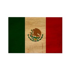 Mexico Flag Rectangle Magnet (100 pack)