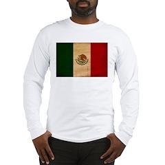 Mexico Flag Long Sleeve T-Shirt