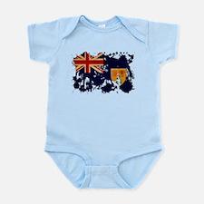Turks and Caicos Flag Infant Bodysuit