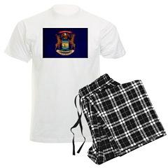 Michigan Flag Pajamas