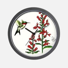 """HUMMINGBIRD"" Wall Clock"