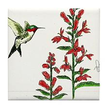 """HUMMINGBIRD"" Tile Coaster"