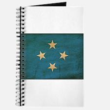 Micronesia Flag Journal