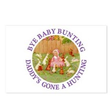 Bye Baby Bunting Postcards (Package of 8)