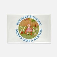 Bye Baby Bunting Rectangle Magnet