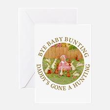 Bye Baby Bunting Greeting Card