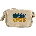 Ukraine Flag Messenger Bag