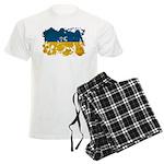 Ukraine Flag Men's Light Pajamas