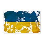 Ukraine Flag 22x14 Wall Peel