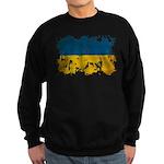Ukraine Flag Sweatshirt (dark)