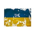 Ukraine Flag Rectangle Magnet (100 pack)