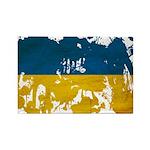 Ukraine Flag Rectangle Magnet (10 pack)