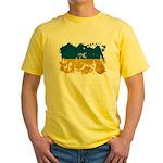 Ukraine Flag Yellow T-Shirt