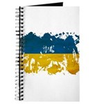 Ukraine Flag Journal