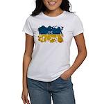 Ukraine Flag Women's T-Shirt