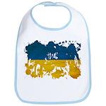 Ukraine Flag Bib
