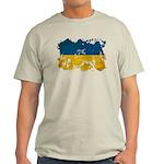 Ukraine Flag Light T-Shirt