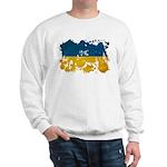 Ukraine Flag Sweatshirt