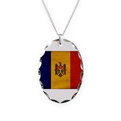 Moldova Flag Necklace