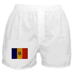 Moldova Flag Boxer Shorts