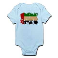 United Arab Emirates Flag Infant Bodysuit