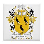 Van Oosten Coat of Arms Tile Coaster