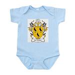Van Oosten Coat of Arms Infant Creeper